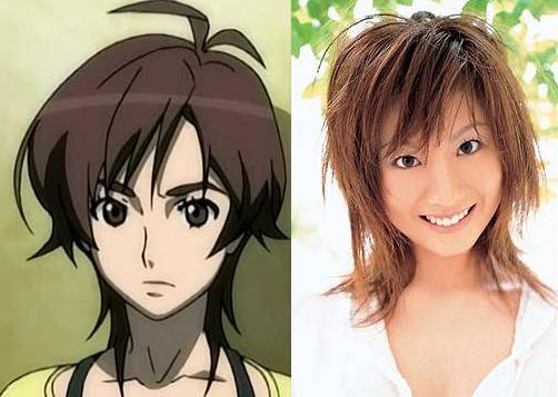Masane Amaha and Yuma Asami