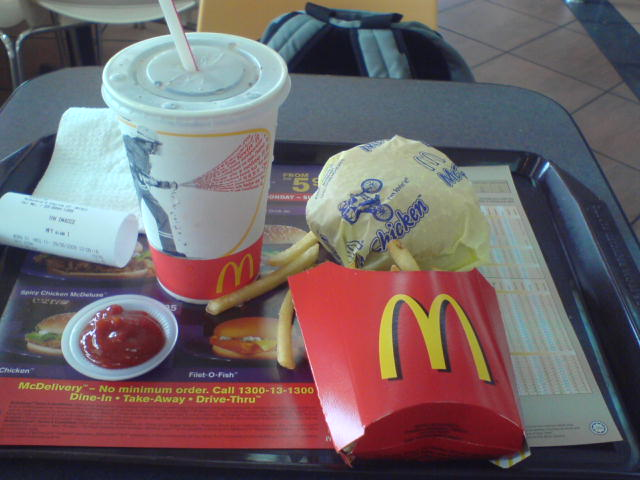 McDonald's McValue Lunch