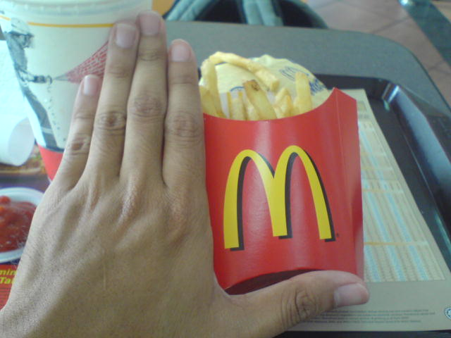 McDonald's 'regular' fries