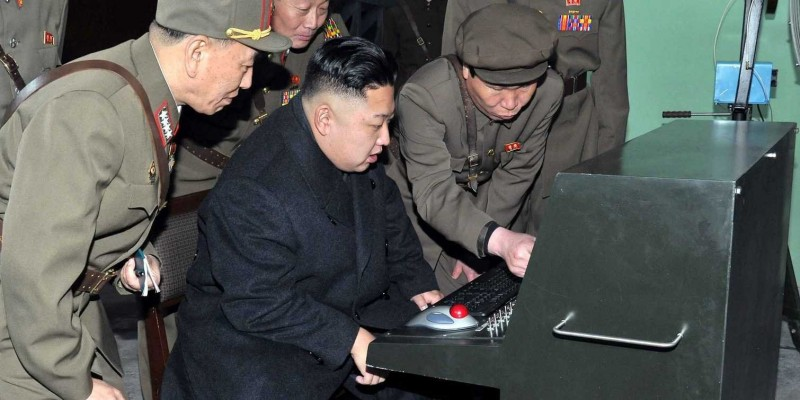 Kim Jong-un and Trackball